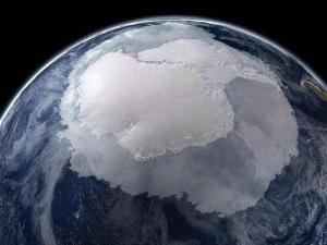 Antarctica from space