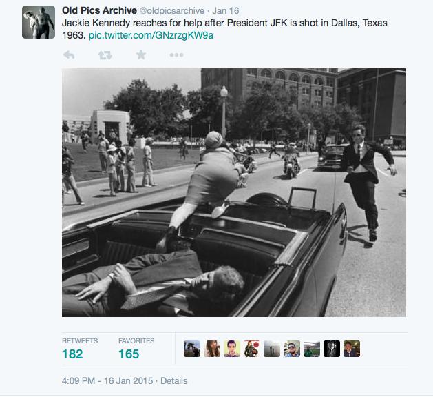 Fake JFK Jackie Kennedy pic
