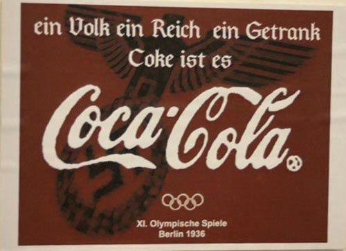 Кока-Кола, Фанта и нацистская Германия